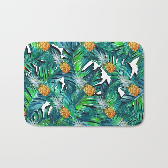 pineapple 2 Bath Mat