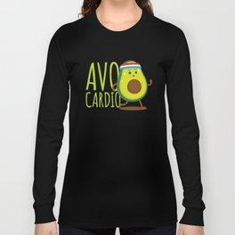 Avo Cardio - Fitness Avocado Long Sleeve T-shirt