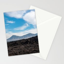 Mountain view in the clouds 2 | Lanzarote island | Fine art travel photography| Stationery Cards