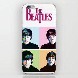 Liverpool Band Illustration iPhone Skin
