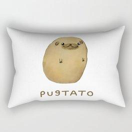 Pugtato Rectangular Pillow