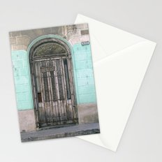 Shuttered Door  Stationery Cards