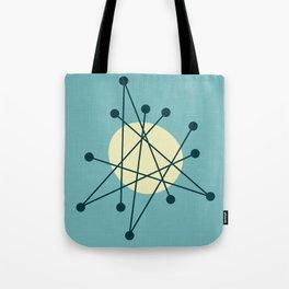 1950s atomic design Tote Bag