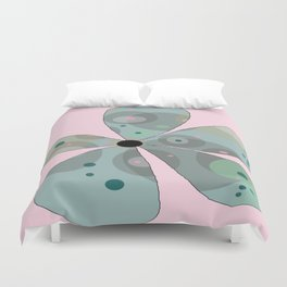 FLOWERY  ROSA / ORIGINAL DANISH DESIGN bykazandholly Duvet Cover