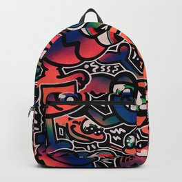 Good Friends and Great Vibes Backpack