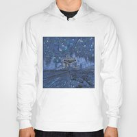las vegas Hoodies featuring las vegas by Bekim ART