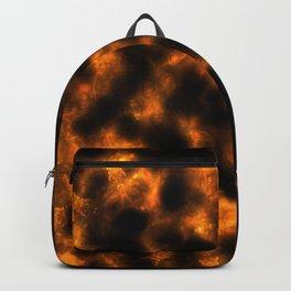 Mandala in Flames Backpack