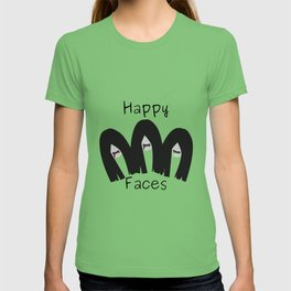 Happy faces T-shirt