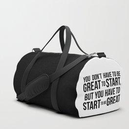 Start! Duffle Bag