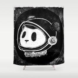 The Martian Panda Shower Curtain