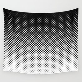 Halftone Gradient Wall Tapestry
