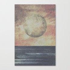 Restless moonchild Canvas Print