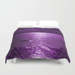 Ultraviolet Lakescene Scandinavian View #decor #society6 #homedecor Duvet Cover