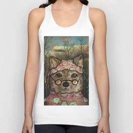 Abueloba (Granny-wolf) Unisex Tank Top