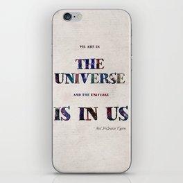 """Universe"" Print iPhone Skin"