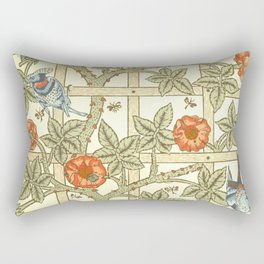 "William Morris ""Trellis"" Rectangular Pillow"