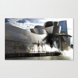 Museu Guggenheim Bilbao | Frank Gehry architect Canvas Print