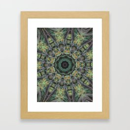 Strawberry Cough Circles Framed Art Print