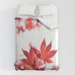 Red Maple by Denise Dietrich Comforters