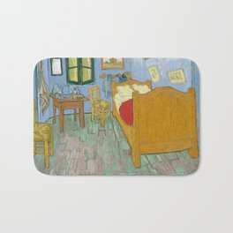 Vincent van Gogh - The Bedroom in Arles Bath Mat