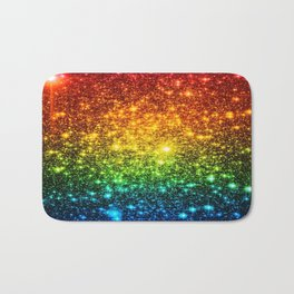 RainBoW Sparkle Stars Bath Mat