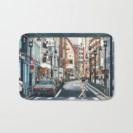 Tokyo Crossing Bath Mat