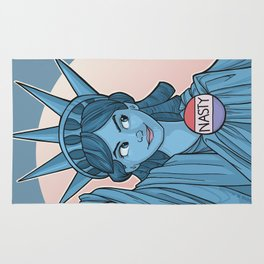 Nasty Lady Liberty Rug