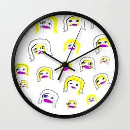 Super Starz Vee Two Wall Clock