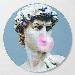 The Statue of David (Michelangelo) with Bubblegum Cutting Board