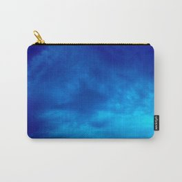 Cloudy Blues Carry-All Pouch