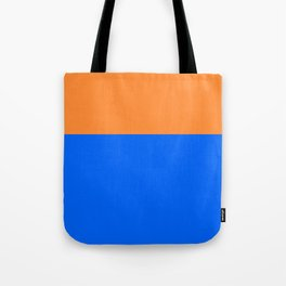 summer blues - orange and cerulean Tote Bag