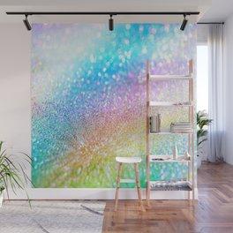 rainbow glitter Wall Mural