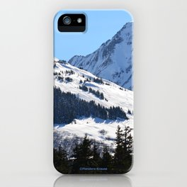 Back-Country Skiing  - I iPhone Case