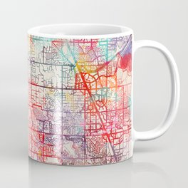 Englewood map Colorado CO Coffee Mug