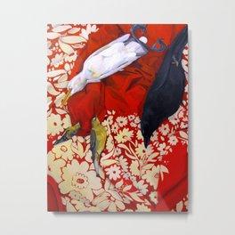 'Decadence' and Dead Birds Metal Print