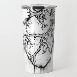 Heart Of Hearts: Outline & Stuff Travel Mug