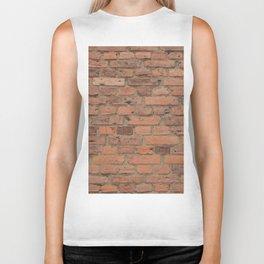 Stone Brick Wall Biker Tank
