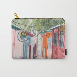 Korean Street Watercolor Illustration Carry-All Pouch