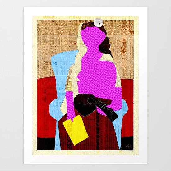 Picasso Woman Art Print