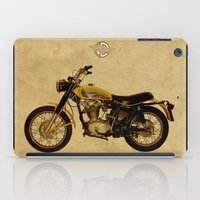 ducati iPad Cases featuring Ducati Scrambler 350 1970 by Larsson Stevensem
