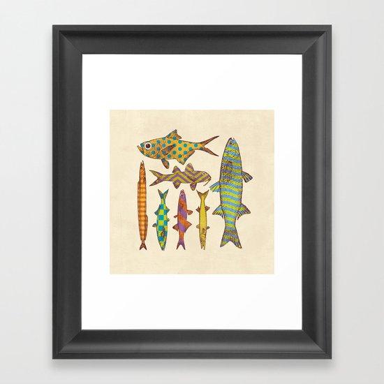 Freshwater Freaks Framed Art Print