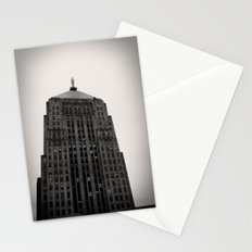 Chicago Board of Trade Building Black and White Stationery Cards