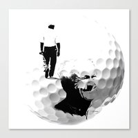 arnold Canvas Prints featuring Arnold Palmer by Ryan Anderson