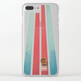 Emergency Stop Clear iPhone Case