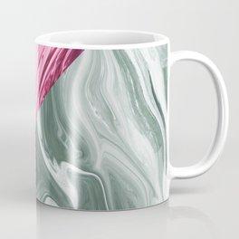 Pink & gray marble Coffee Mug
