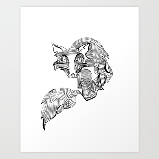 Reynard Fox Art Print