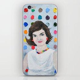 Polka Daub Jackie O iPhone Skin