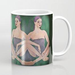 Mirrored Figure Study Coffee Mug