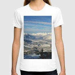 Innsbruck In Winter From Patscherkofel Mountain T-shirt