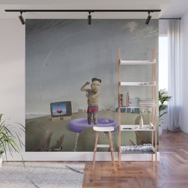 The Child Dictator—Kim Jung Un Wall Mural
